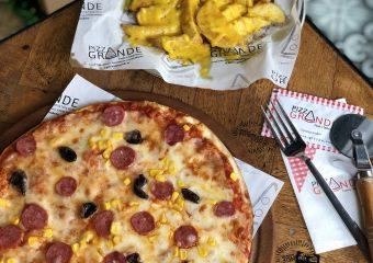 Pizza Grande Frankfurter Pizza